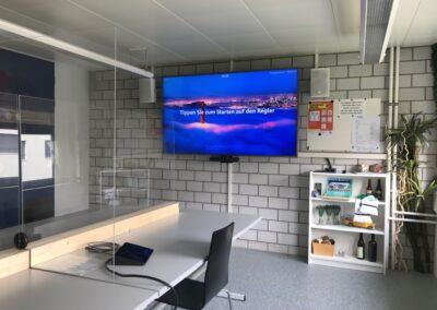 Videokonferenzraum Verkehrsüberwachung 2020
