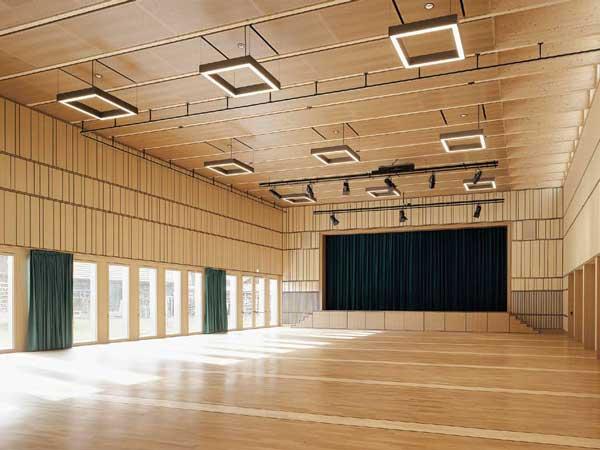 Lindensaal Uzwil Multimedia Retrofit 2021