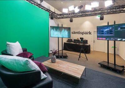 Hotel Säntispark (Migros) eröffnet Streaming Studio 2021